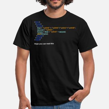 Ascii Code code - Men's T-Shirt