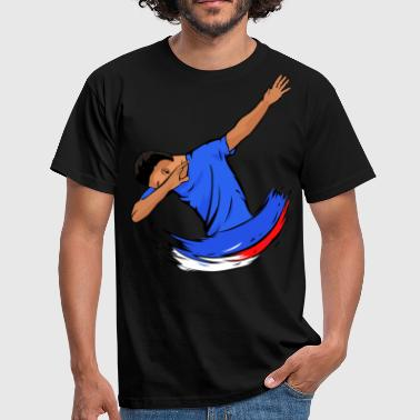 Frenchman Dabbing Frenchman - Men's T-Shirt