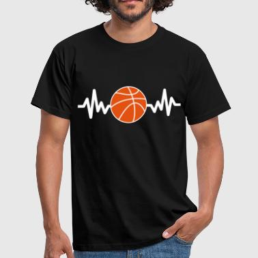 Basketball is life - Basket-ball - Men's T-Shirt