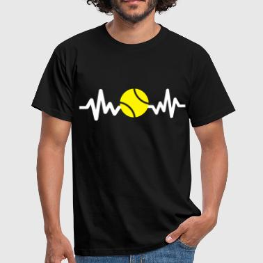 Tennis is life - Männer T-Shirt