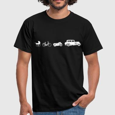 Oldtimer Evolution T-shirts - Mannen T-shirt