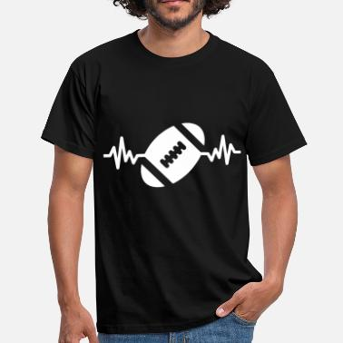 c4ecf0094d43d Rugby rugby is life - J  39 aime le rugby - T-shirt