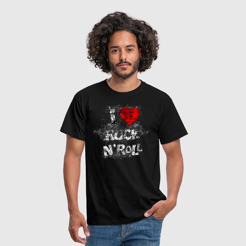 I LOVE ROCK N'ROLL - T-shirt Homme