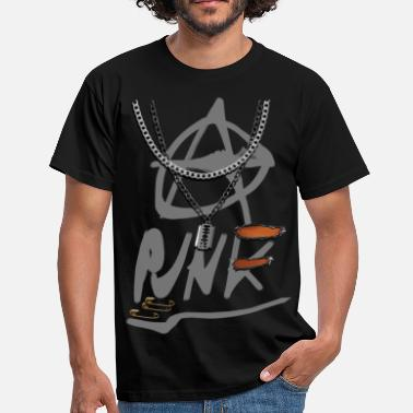 anarchy punk v2 - Men's T-Shirt