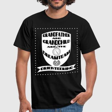 Grandpa and grandchild - Men's T-Shirt