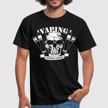 Vaping Saves Lives - Männer T-Shirt