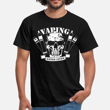 Smoke Vaping Saves Lives - T-shirt Homme