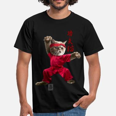 Fu Cat KUNGFU CAT - Men's T-Shirt