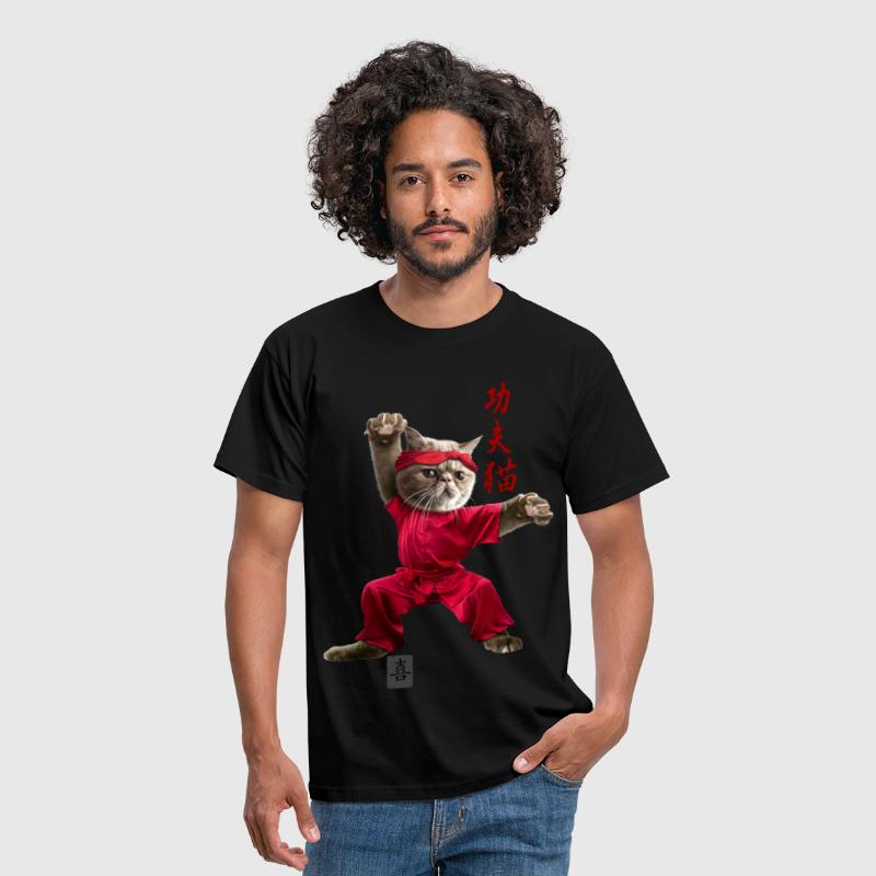 KUNGFU CAT - Men's T-Shirt