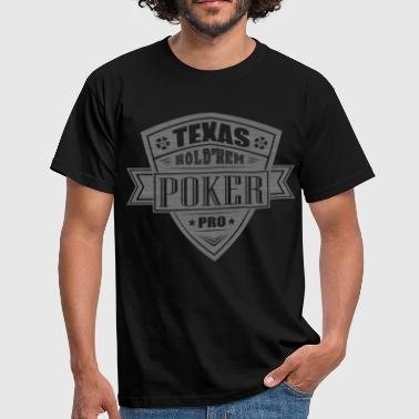 Texas hold'em poker - Men's T-Shirt