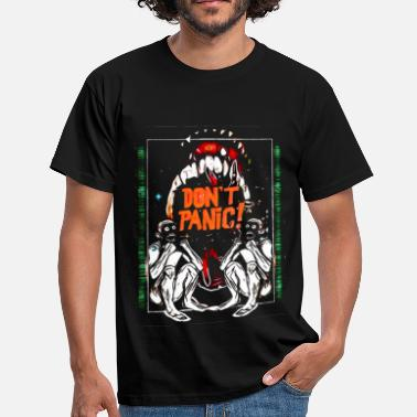 Panic DON'T PANIC COLOUR - Men's T-Shirt