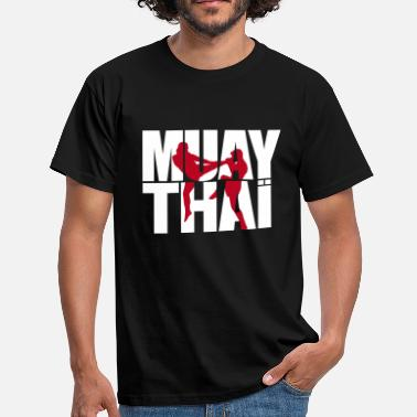 Thai Muay thai logo full - Men's T-Shirt