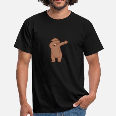 Grizzly Bear Dab Grizzly Bear - Camiseta hombre