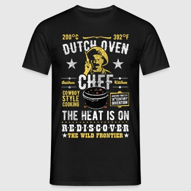 Dutch Oven, Outlaw, distressed - Männer T-Shirt