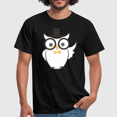 Wise Wise owl - Men's T-Shirt