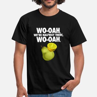 Lemon On A Pear lemon on a pear - funny misheard lyrics - Men's T-Shirt