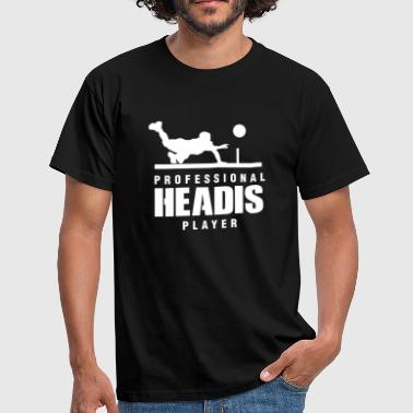 Pingis Professionell Headis Player - T-shirt herr