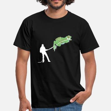 Amphibian Funny The frog tamer - gifts reptiles amphibians - Men's T-Shirt