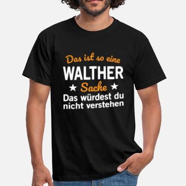 Walther Walther - Männer T-Shirt
