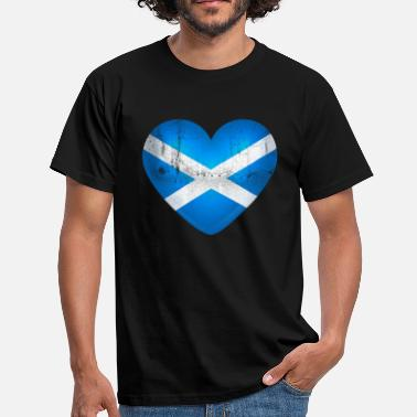 Scotland Love Scotland in the heart - I Love Scotland - Men's T-Shirt