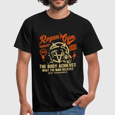 Horror Regan's Gym - Mannen T-shirt