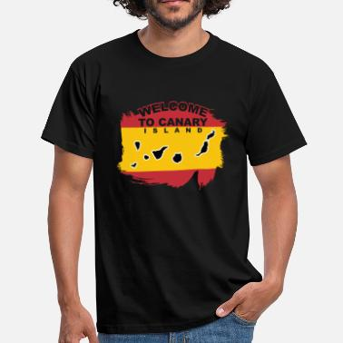 Canary Islands Welcome to Canary Island - Men's T-Shirt