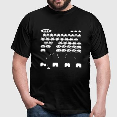 space invaders - Men's T-Shirt