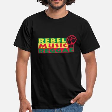 Music Hall rebel music reggae - Herre-T-shirt