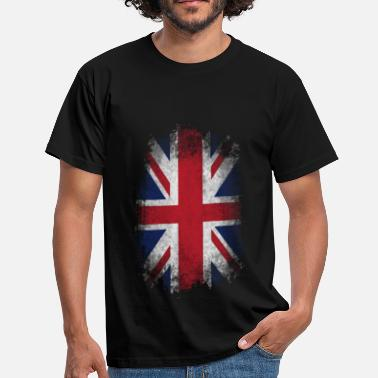 Uk Flag Eroded UK Flag - Men's T-Shirt