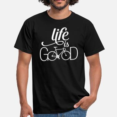 Logo Ciclismo Life Is....Bicycle Love - Camiseta hombre