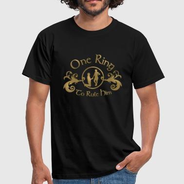 one ring to rule him - Männer T-Shirt