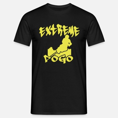 Pogo Extreme Pogo Skyline - Men's T-Shirt