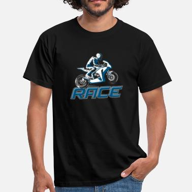 Race fan cadeau - T-shirt Homme