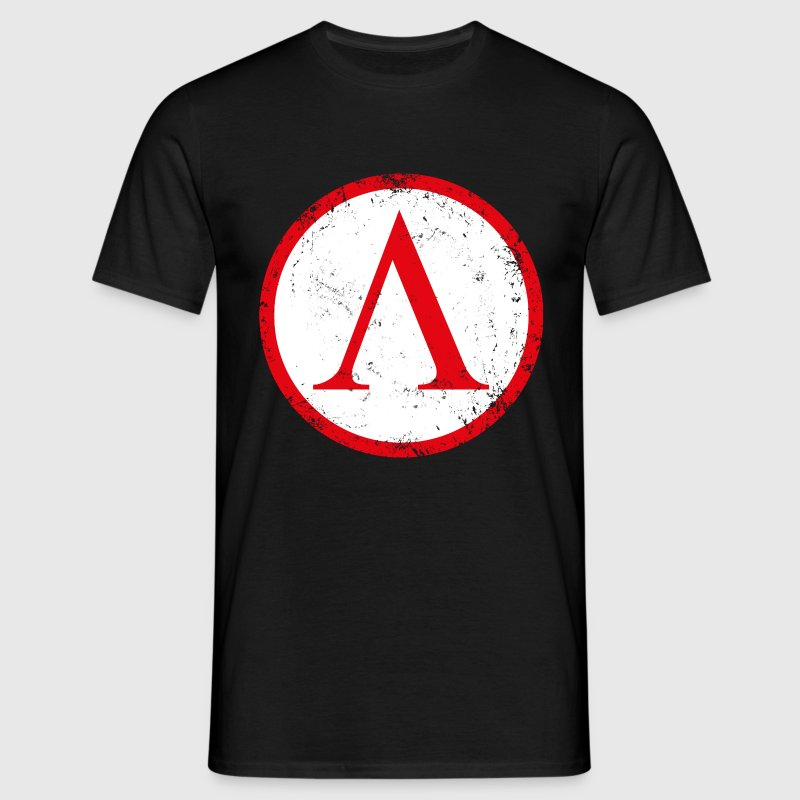 Spartan shield used - Men's T-Shirt