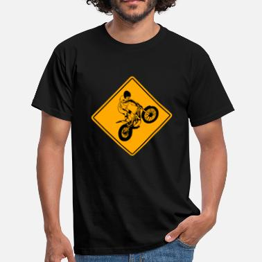 Gasgas Trial Road Sign - T-shirt Homme