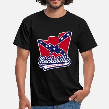 Rockabilly Style Rockabilly will rise again! - Männer T-Shirt