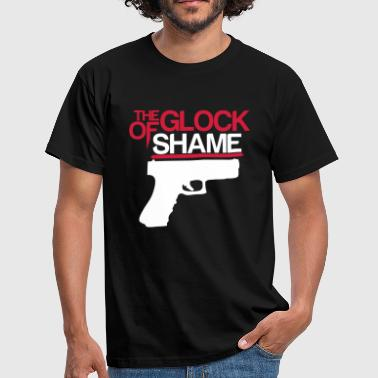THE GLOCK OF SHAME - Men's T-Shirt