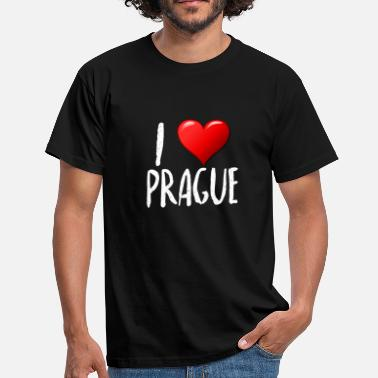 J'aime Prague - T-shirt Homme