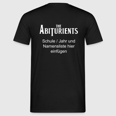 The Abiturients - Männer T-Shirt