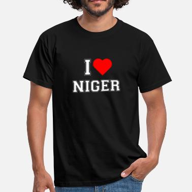 Nigger J'adore Niger - T-shirt Homme
