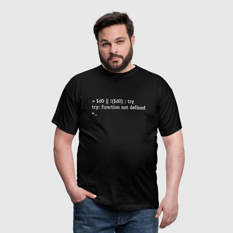 Do or do not. There is no try. - T-shirt herr