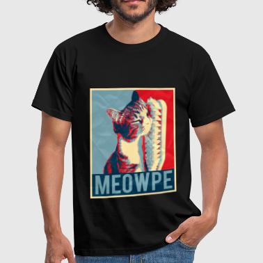 MEOWPE - cat - Men's T-Shirt