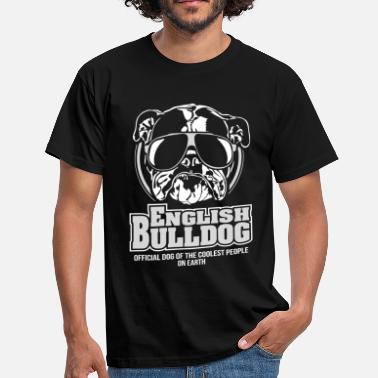 Olde English Bulldog ENGLISH BULLDOG coolest people Wilsigns - Männer T-Shirt