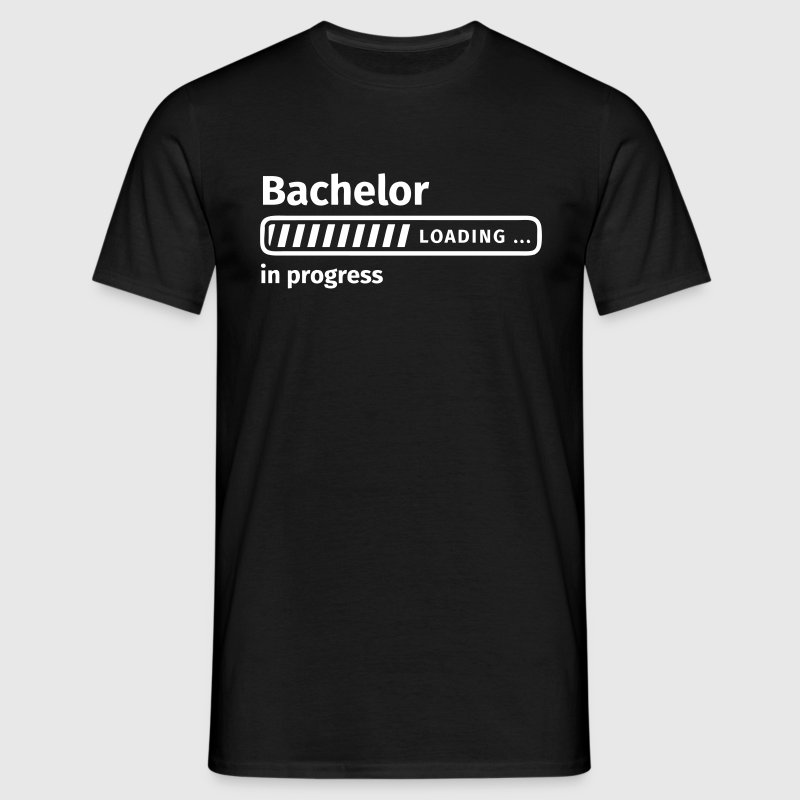 Bachelor in Progress - Männer T-Shirt