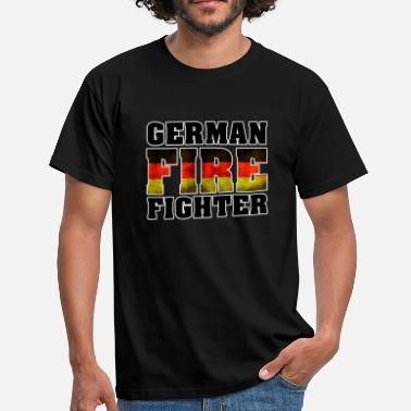 Fire Fighter German Fire Fighter - Männer T-Shirt