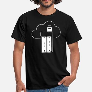 18650 Dual 18650 BoxMod - Men's T-Shirt