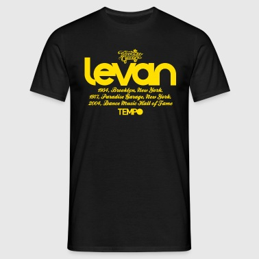 Levan Paradise Garage in Yellow - Men's T-Shirt