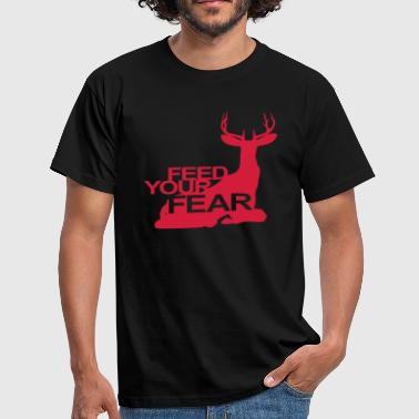 Hannibal Lecter Feed your fear (Hannibal) - Men's T-Shirt