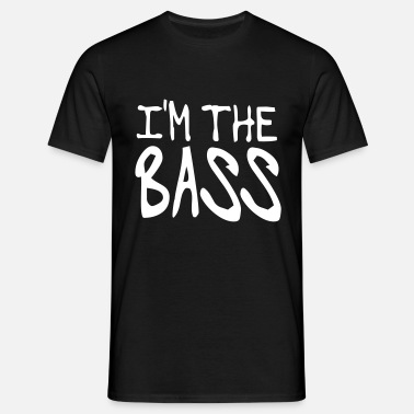 Bass Terror the Bass - Männer T-Shirt