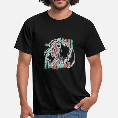 Prédateur Animal Lion prédateur animal de proie - T-shirt Homme